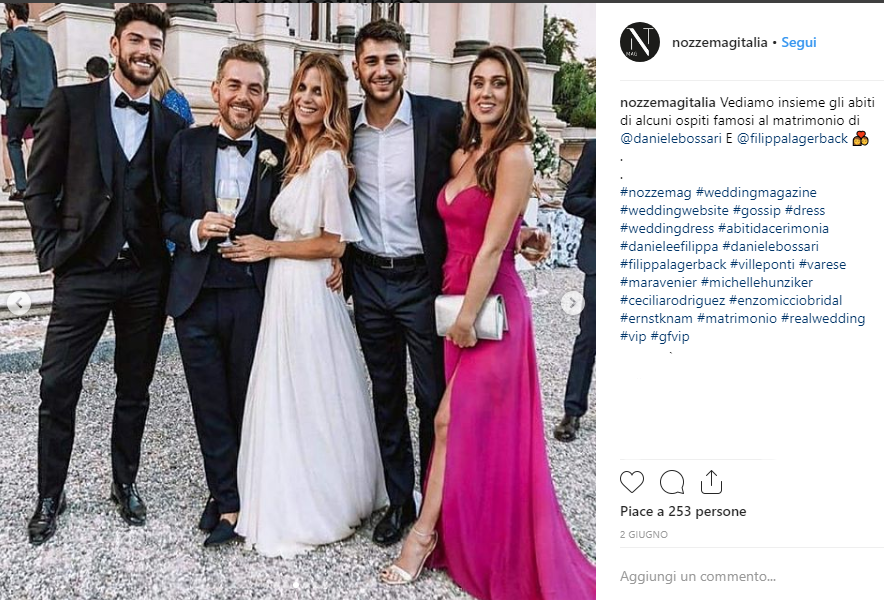 Daniele Bossari Filippa Lagerbäck Marialuisa Wedding Event Planner